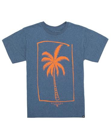 PALM BANK KIDS HEATHER S/S TEE
