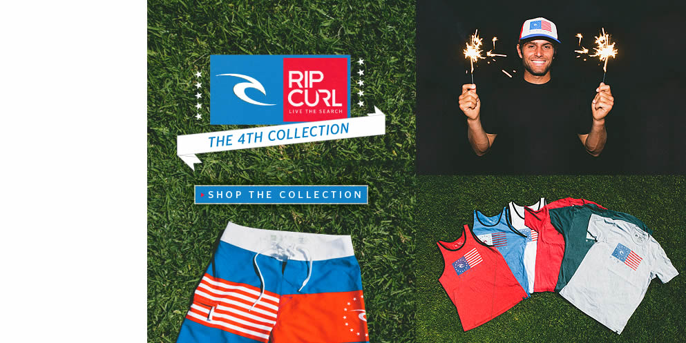 The Rip Curl 4th of July Collection